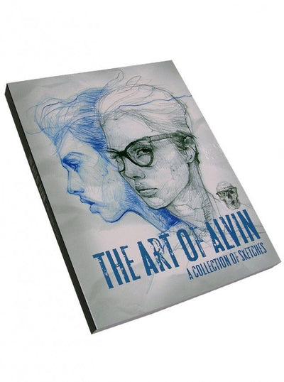 """The Art of Alvin: A Collection of Sketches"" by Out of Step Books - www.inkedshop.com"