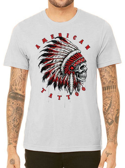 "Men's ""American Tattoo"" Tee by 7th Revolution (More Options)"