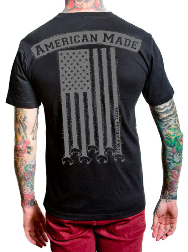 Men's American Made Tee by Fatal Clothing