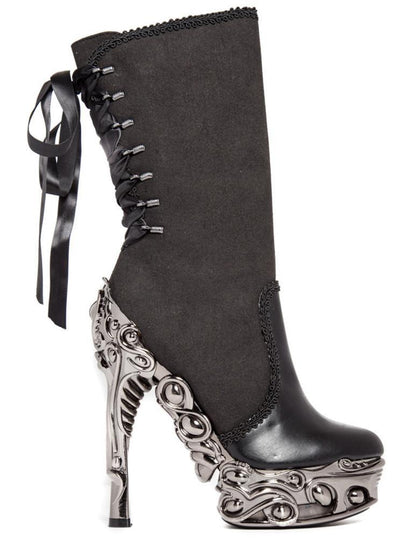 Analia Micro-suede Boot by Hades