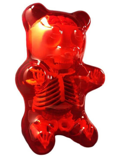 Anatomy Gummy Bear (Red) - www.inkedshop.com