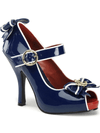 "Women's ""Anchor"" Heels by Funtasma (Blue) - www.inkedshop.com"