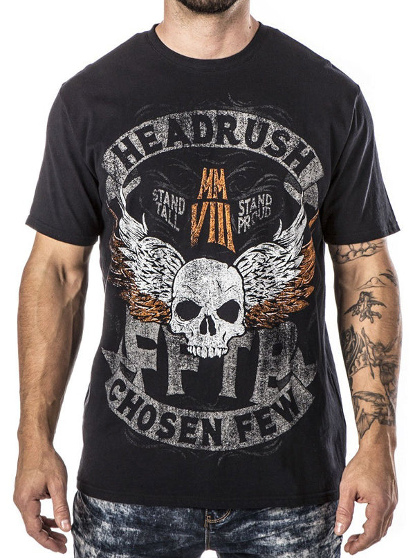 "Men's ""Ancient Tribes"" Tee by Headrush Brand (Black)"