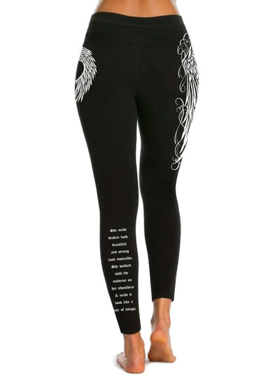 Women's Angel Leggings by Beautiful Disaster