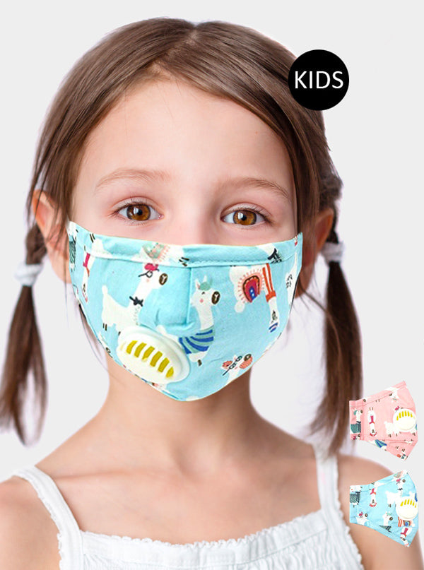 Kid's Random Animals Face Mask