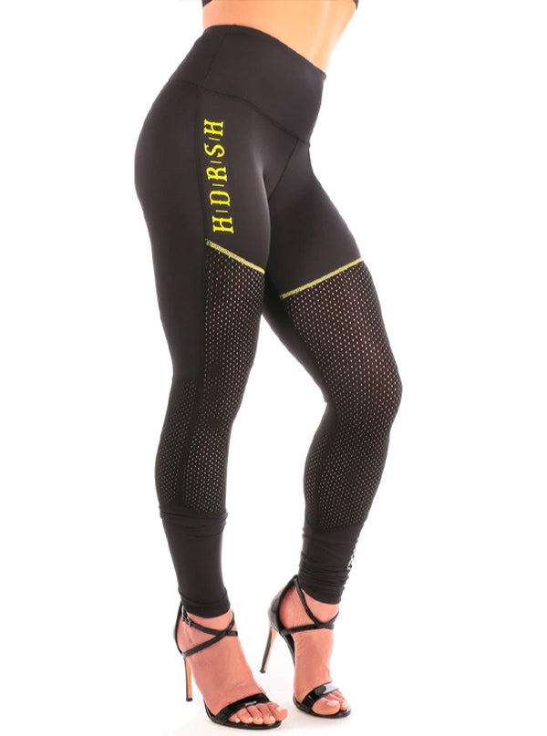 Women's Anti Pattern Leggings by Headrush Brand