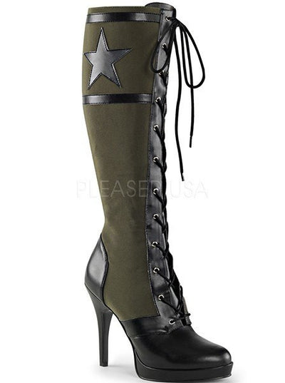"Women's ""Arena"" Knee High Boots by Funtasma (More Options) - www.inkedshop.com"