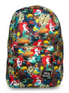 """Ariel Photo"" Backpack by Loungefly (Black) - www.inkedshop.com"
