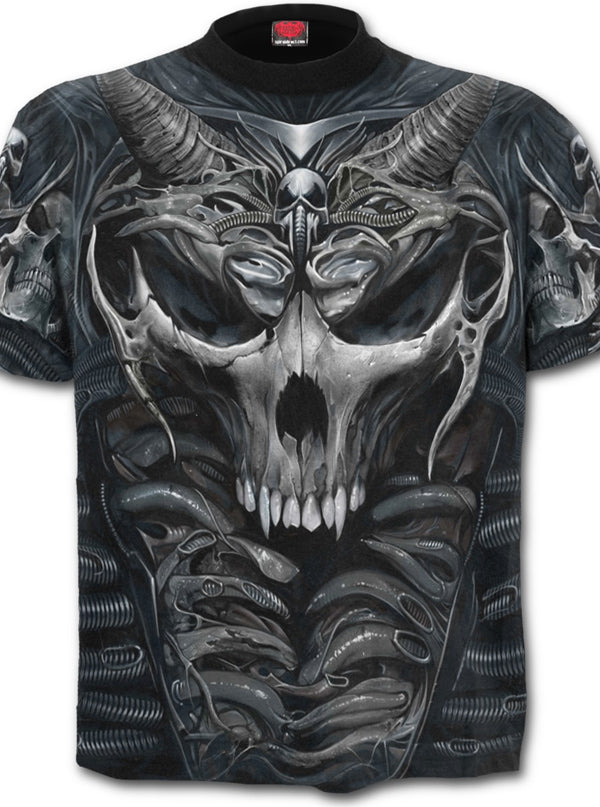 Men's Skull Armour Tee by Spiral USA