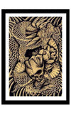 Dragon and Skull by Clark North - InkedShop - 1