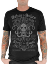 "Men's ""Ashes To Ashes"" Tee by Serpentine Clothing (Black) - www.inkedshop.com"