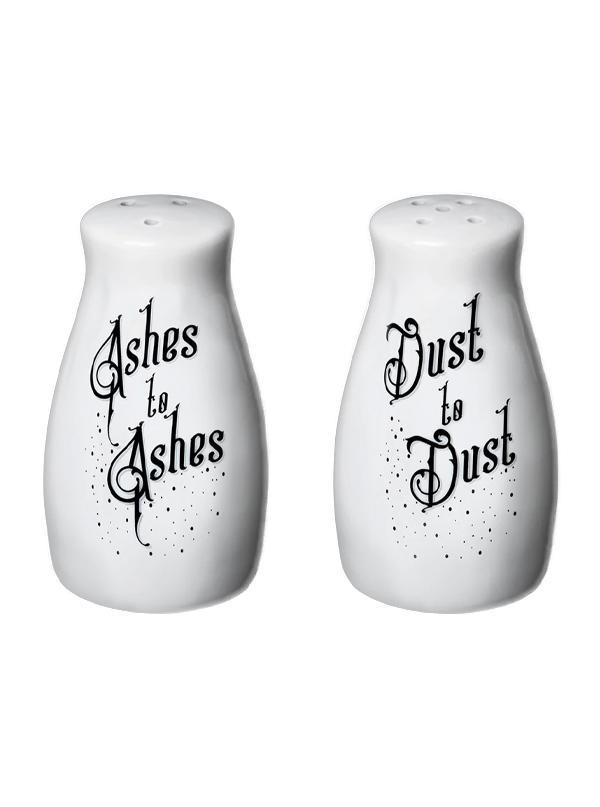 Ashes & Dust Salt & Pepper Set by Alchemy of England