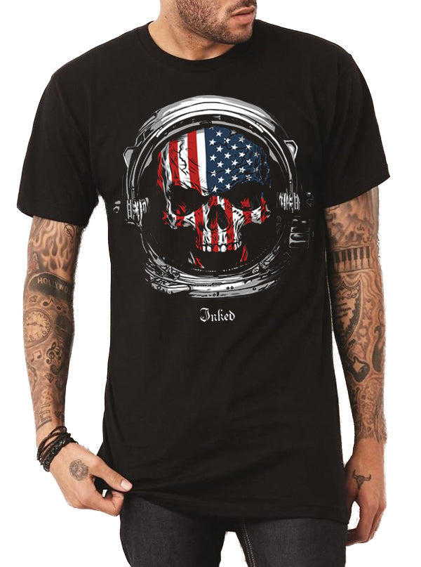 Men's Astronaut Tee by Inked