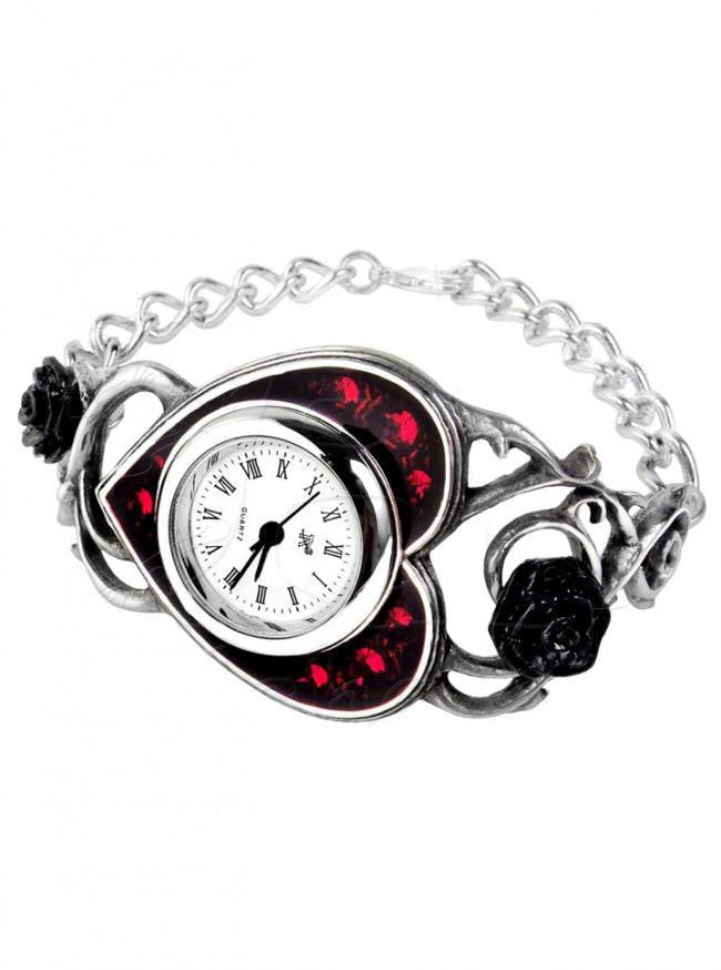 """Bed Of Blood Roses"" Watch by Alchemy of England - www.inkedshop.com"