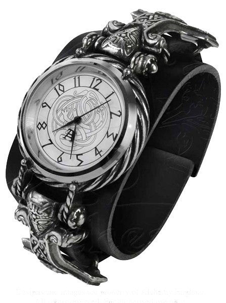 """Thorgud Ulvhammer"" Watch by Alchemy of England - www.inkedshop.com"