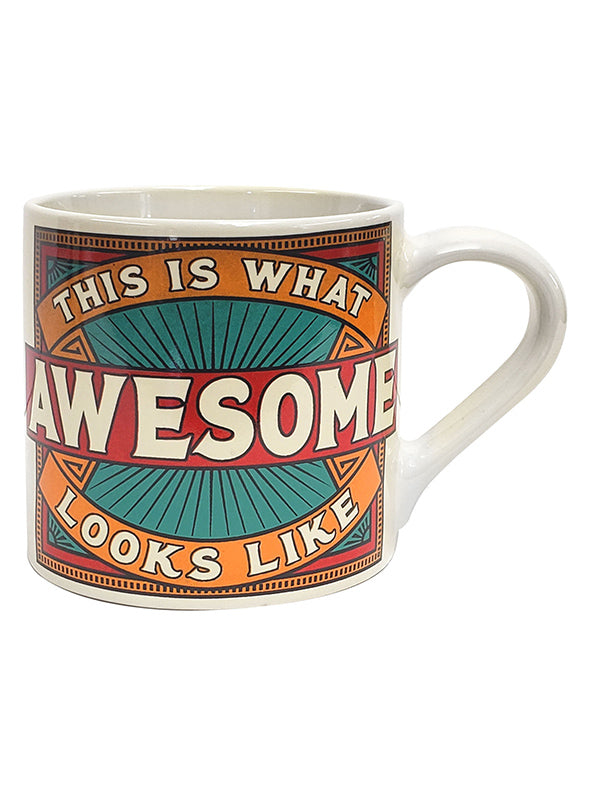 This is What AWESOME Looks Like Coffee Mug by Trixie & Milo