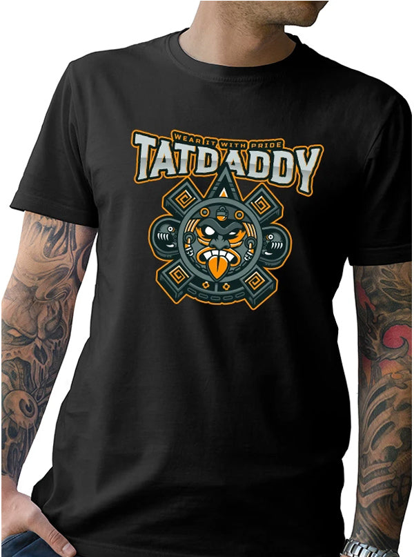 Men's Aztec Times Tee by Tat Daddy