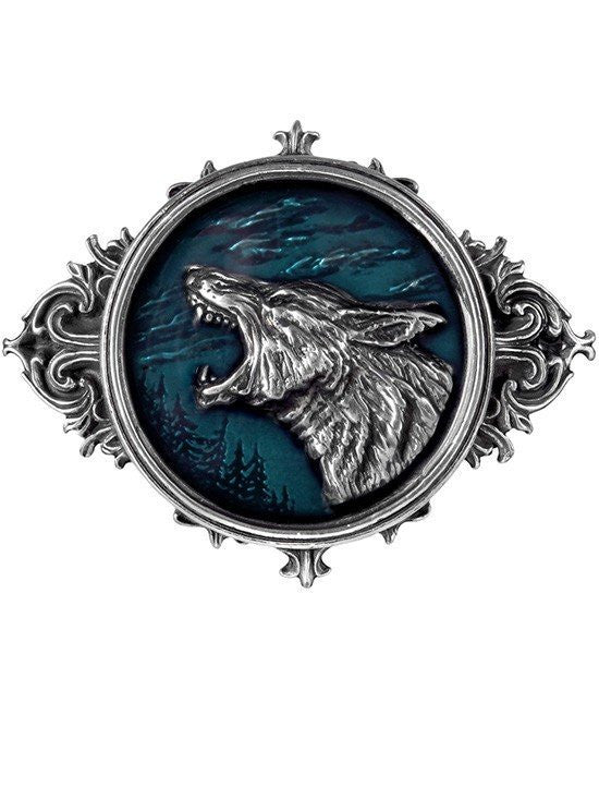 """Wulven"" Belt Buckle by Alchemy of England - www.inkedshop.com"
