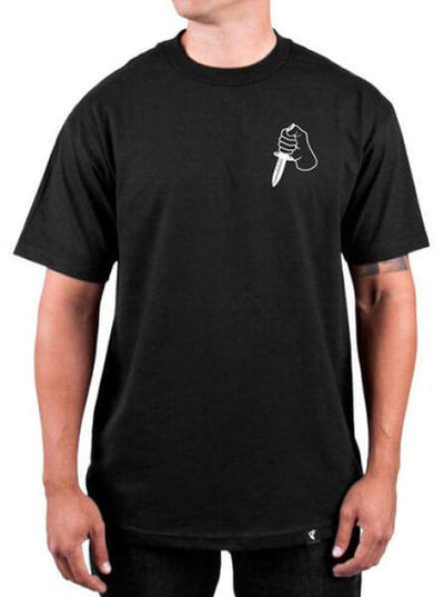 "Men's ""Back Stabbers"" Tee by Famous Stars & Straps (Black) - www.inkedshop.com"