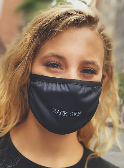 Back Off Face Mask by Ktag