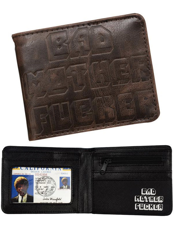 """Bad Motherfucker"" Wallet (Brown)"