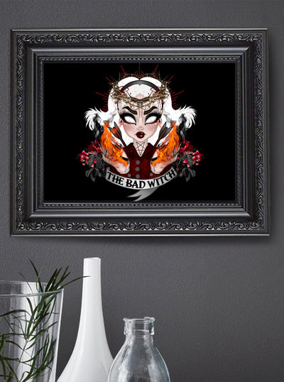 Witches Print by Miss Cherry Martini for Lowbrow Art Company
