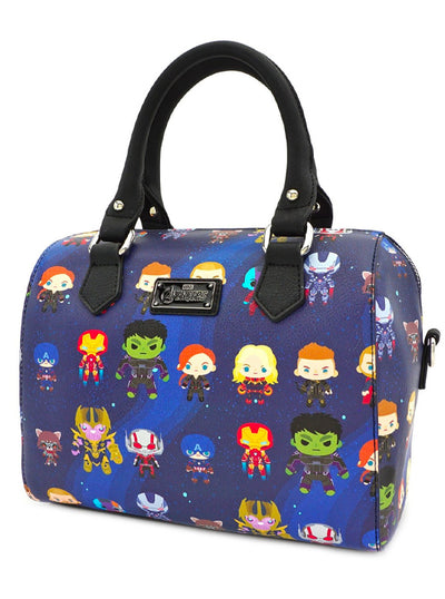 Marvel: Avengers Endgame Chibi Print Duffle Bag by Loungefly