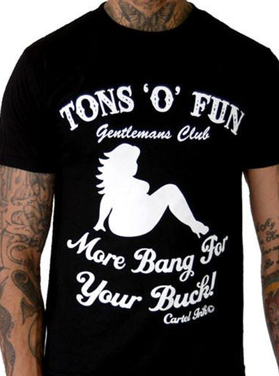Men's Tons o' Fun Tee by Cartel Ink