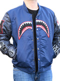 "Men's ""Shark Bite"" Bomber Jacket by Robert Phillipe (More Options)"