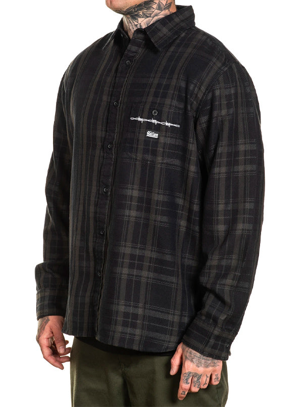 Men's Bars Flannel by Sullen