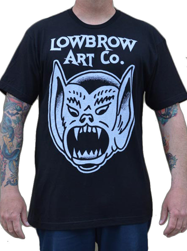 Men's Bat Boy Tee by Lowbrow Art Company