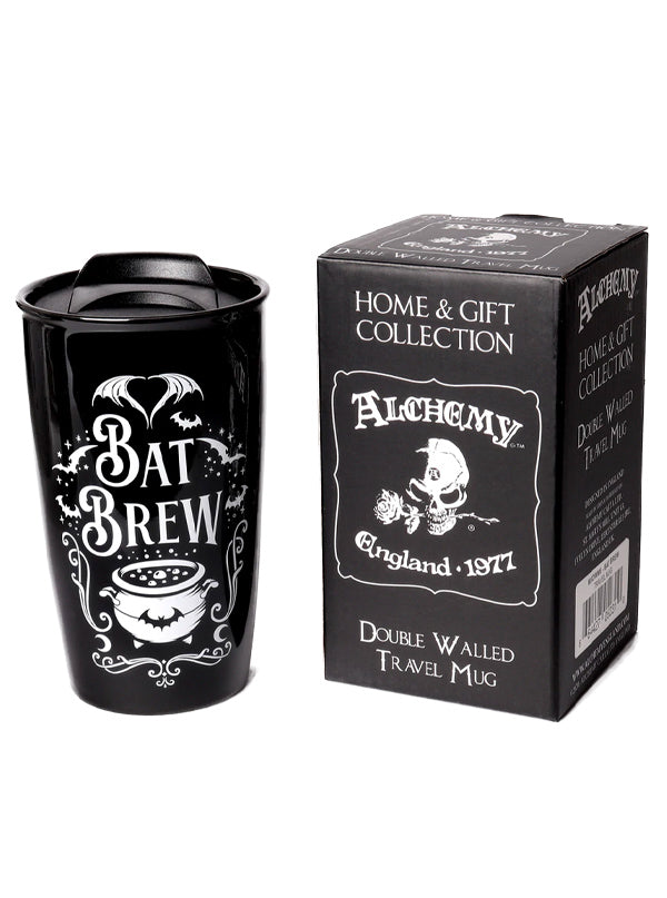Bat Brew Travel Mug by Alchemy of England