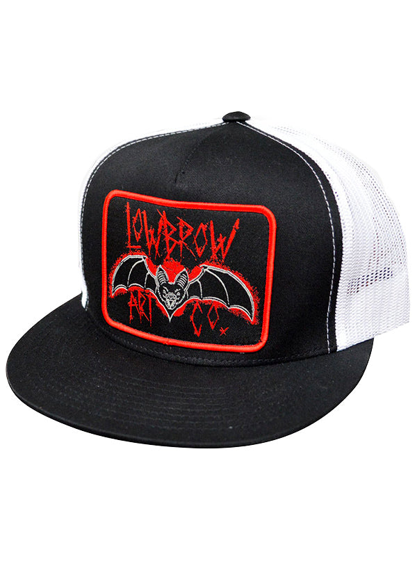 Bat Classic Two Tone Trucker Hat by Lowbrow Art Company