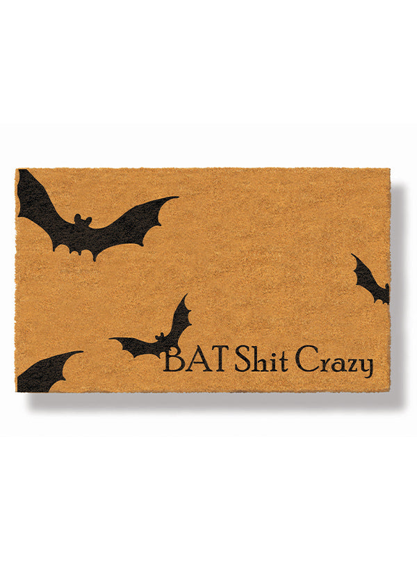 Bat Shit Crazy Doormat by Funny Welcome