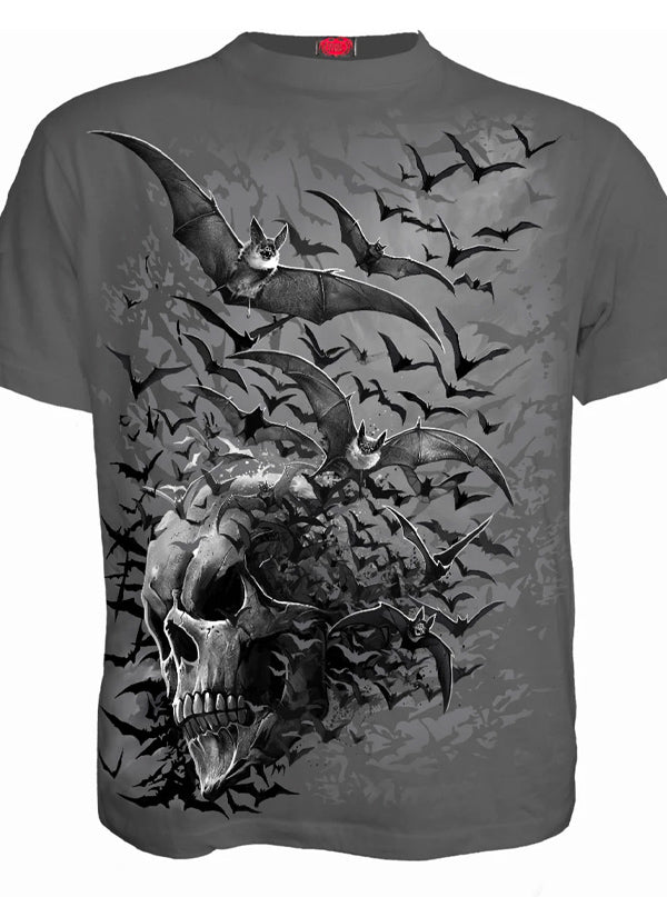 Men's Bat Skull Tee by Spiral USA