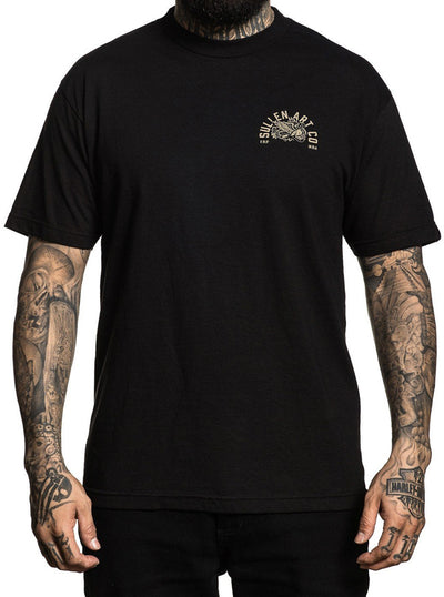 "Men's ""Battle Tested"" Tee by Sullen (Black)"