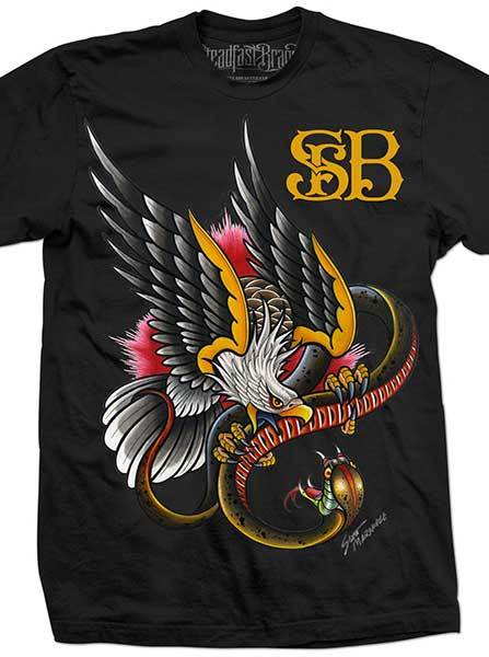 Men's The Battle Tee by Steadfast Brand (black)