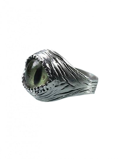Sterling Silver Snake Eye Adjustable Ring by Blue Bayer Design - InkedShop - 4