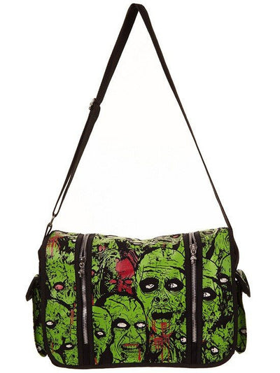 "Women's ""Sensation"" Bag by Banned Apparel (Green) - www.inkedshop.com"
