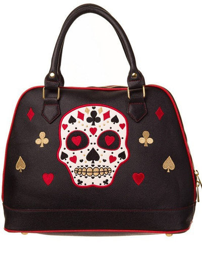 "Women's ""Lash Out"" Bag by Banned Apparel (Black) - www.inkedshop.com"