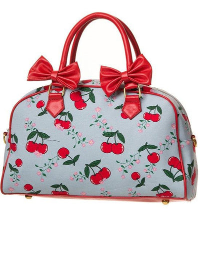 "Women's ""Blindside"" Bag by Banned Apparel (Blue/Red) - www.inkedshop.com"