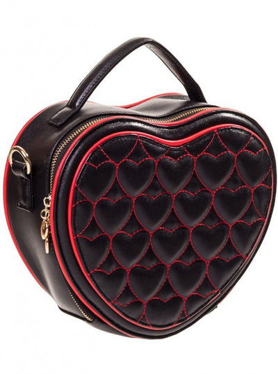 "Women's ""Great Heights"" Handbag by Banned Apparel (Black) - www.inkedshop.com"