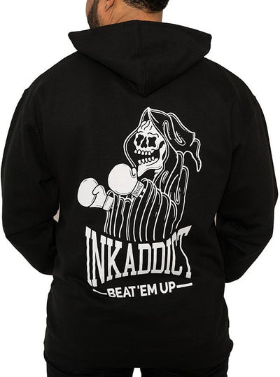 Men's Beat 'Em Up Hoodie by InkAddict