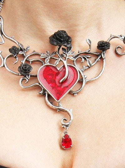 """Bed Of Blood Roses"" Pendant by Alchemy of England - InkedShop - 3"