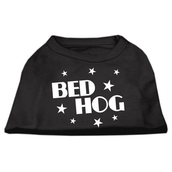 """Bed Hog"" Dog Shirt by Mirage (Black) - www.inkedshop.com"