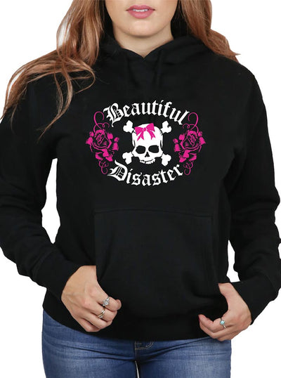 Women's Bella Rose Hoodie by Beautiful Disaster