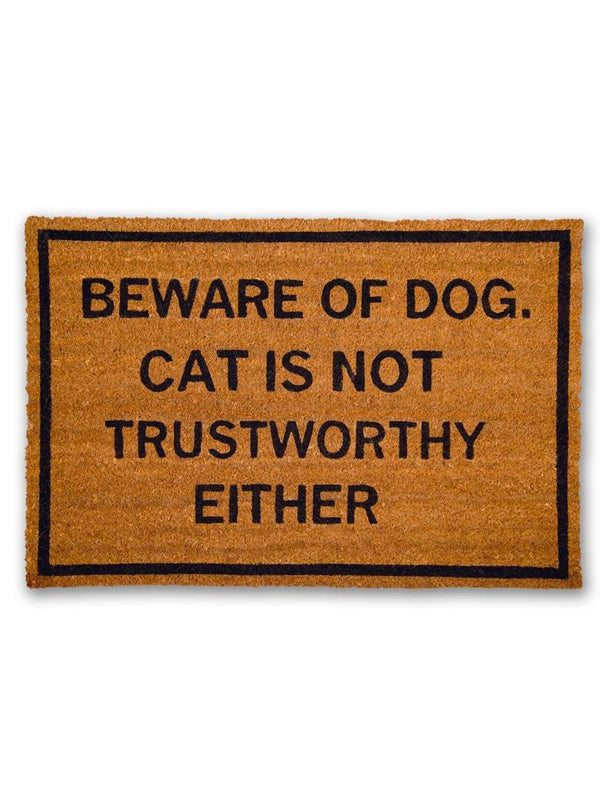 Beware of Dog Doormat by Bison
