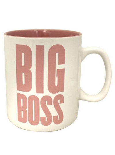 """Big Boss"" Giant Mug (More Options)"