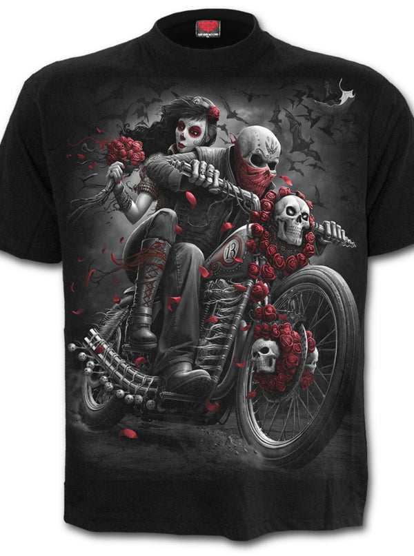 Men's Bikers Tee by Spiral USA