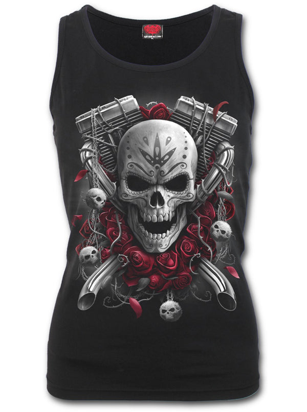 Women's DOTD Bikers Tank by Spiral USA